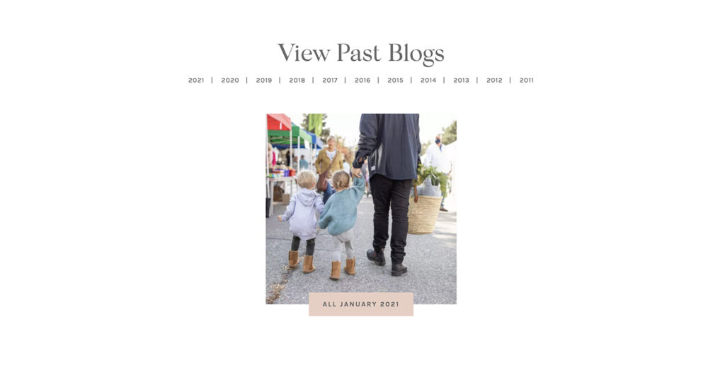 A new way to search for blogs on jillianharris.com.