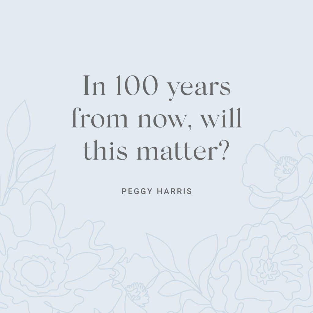 Peggy Harris Inspiring Quote