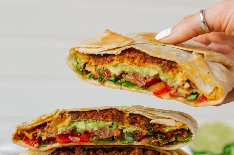 Vegan Crunch Wrap