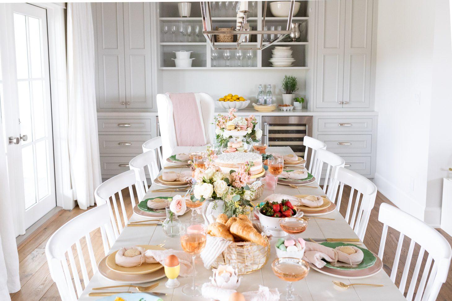 Jillian Harris Easter Tablescape