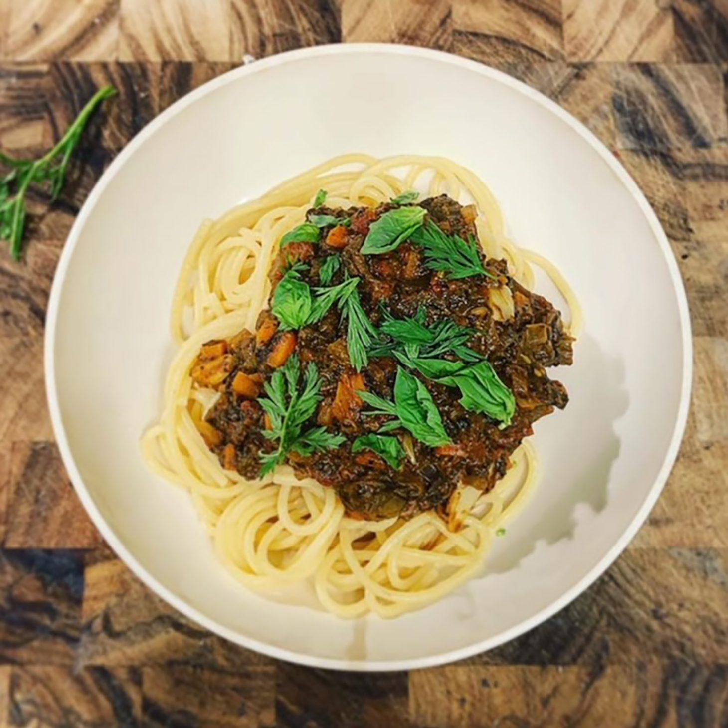 Fraiche Food Full Hearts Garden Bolognese Recipe
