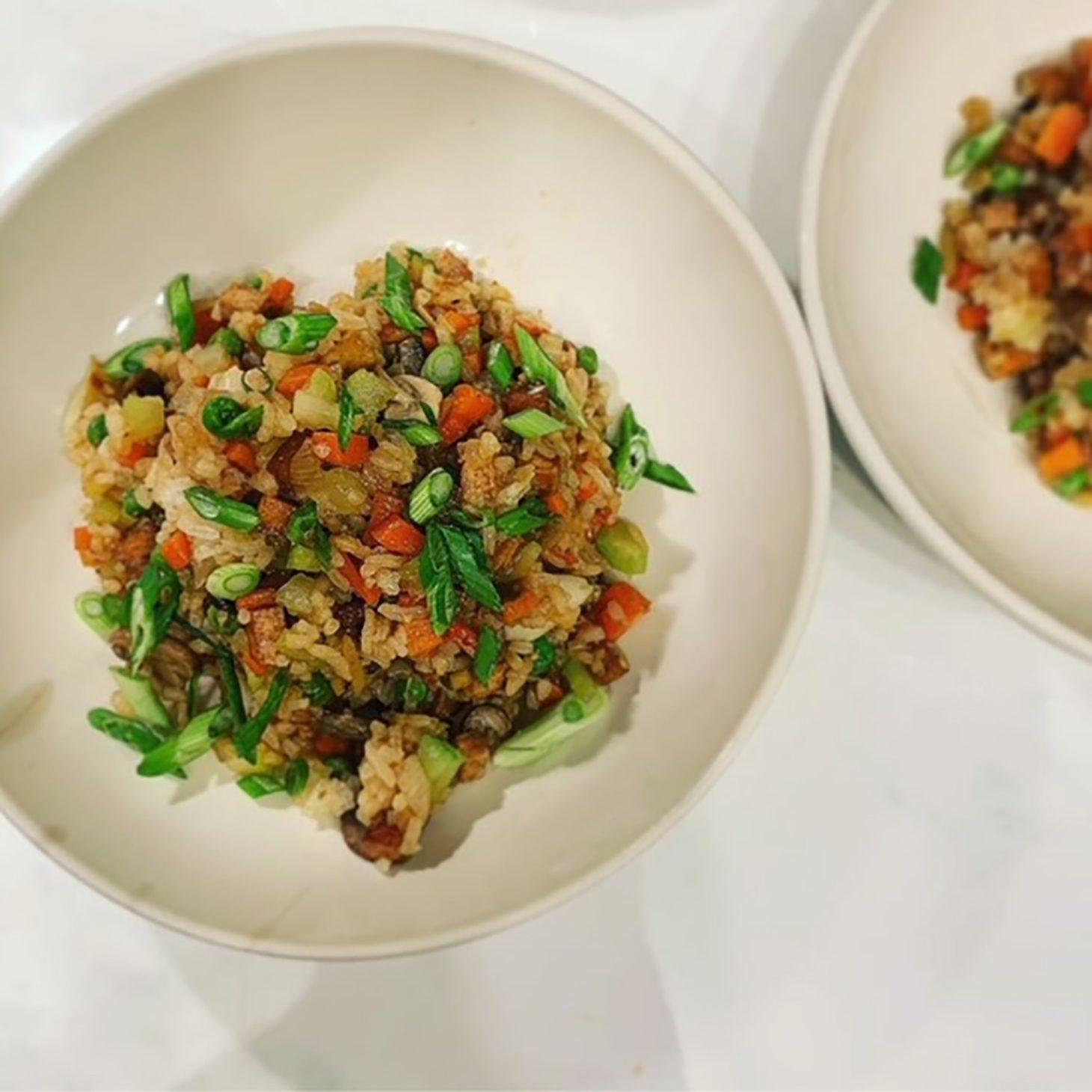 Fraiche Food Full Hearts Tofu Fried Rice Recipe