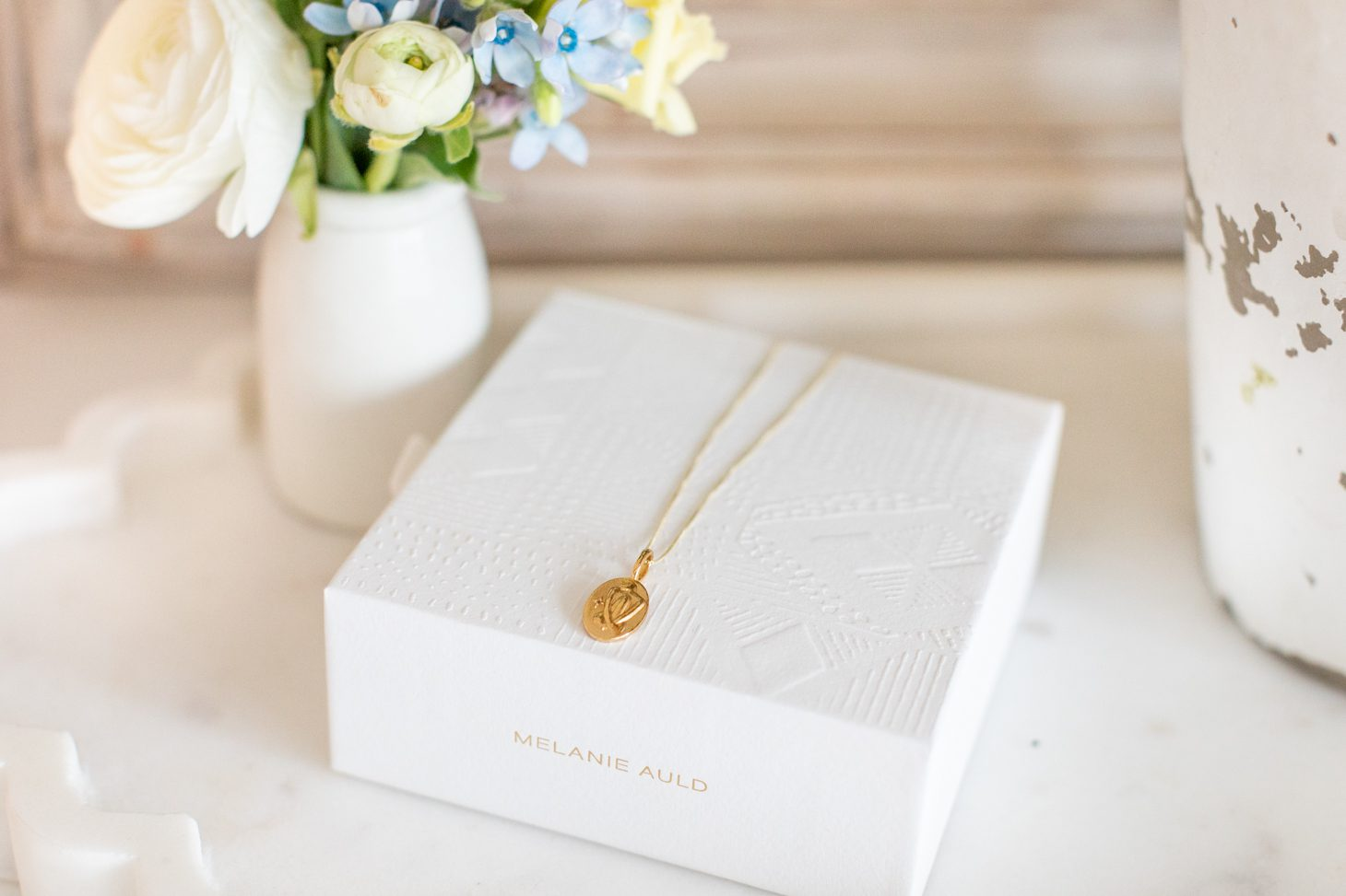 Melanie Auld X Jillian Harris Goddess Necklace