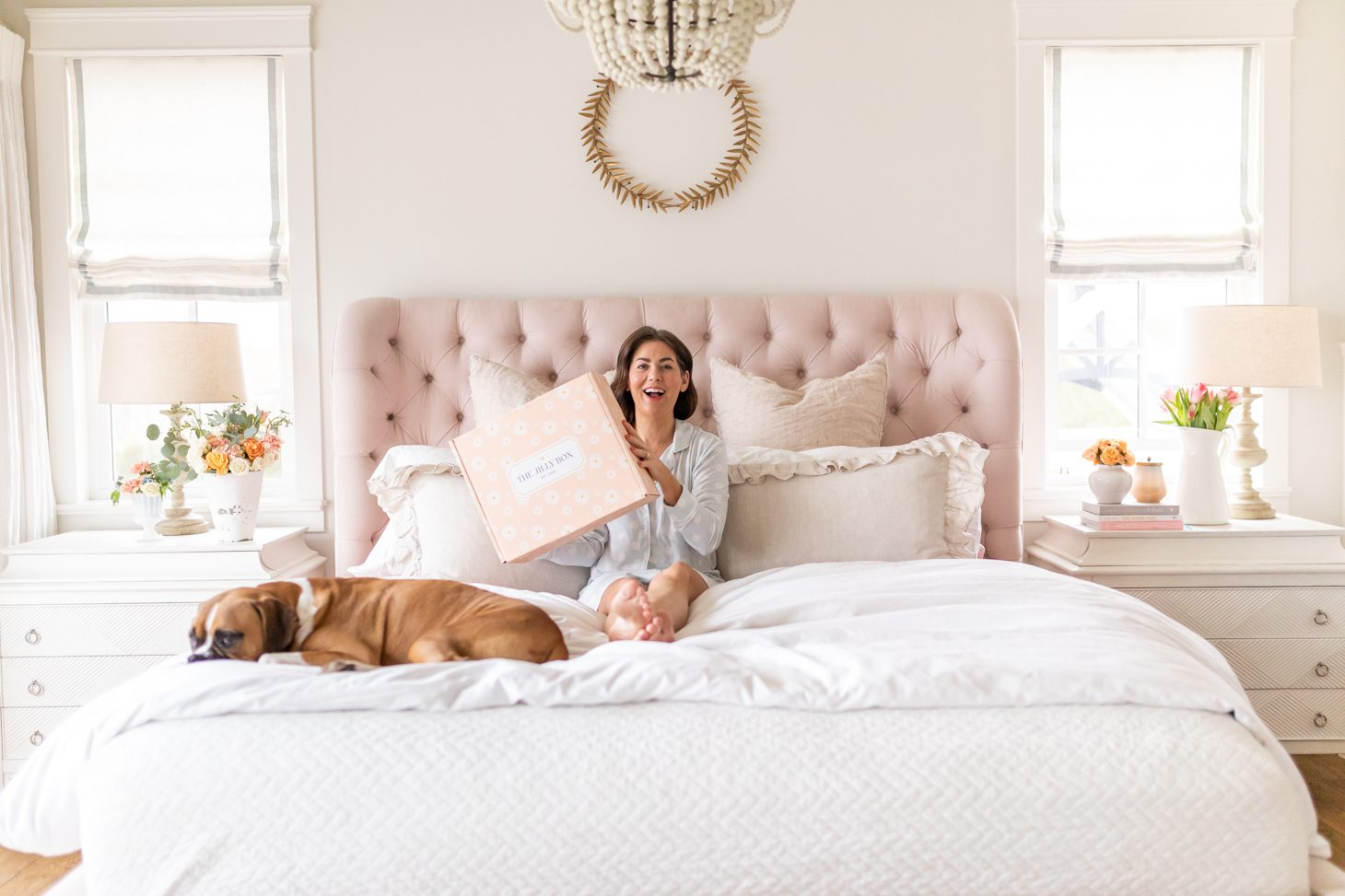 Jillian Harris Revealing the contents of the Spring 2021 Jilly Box
