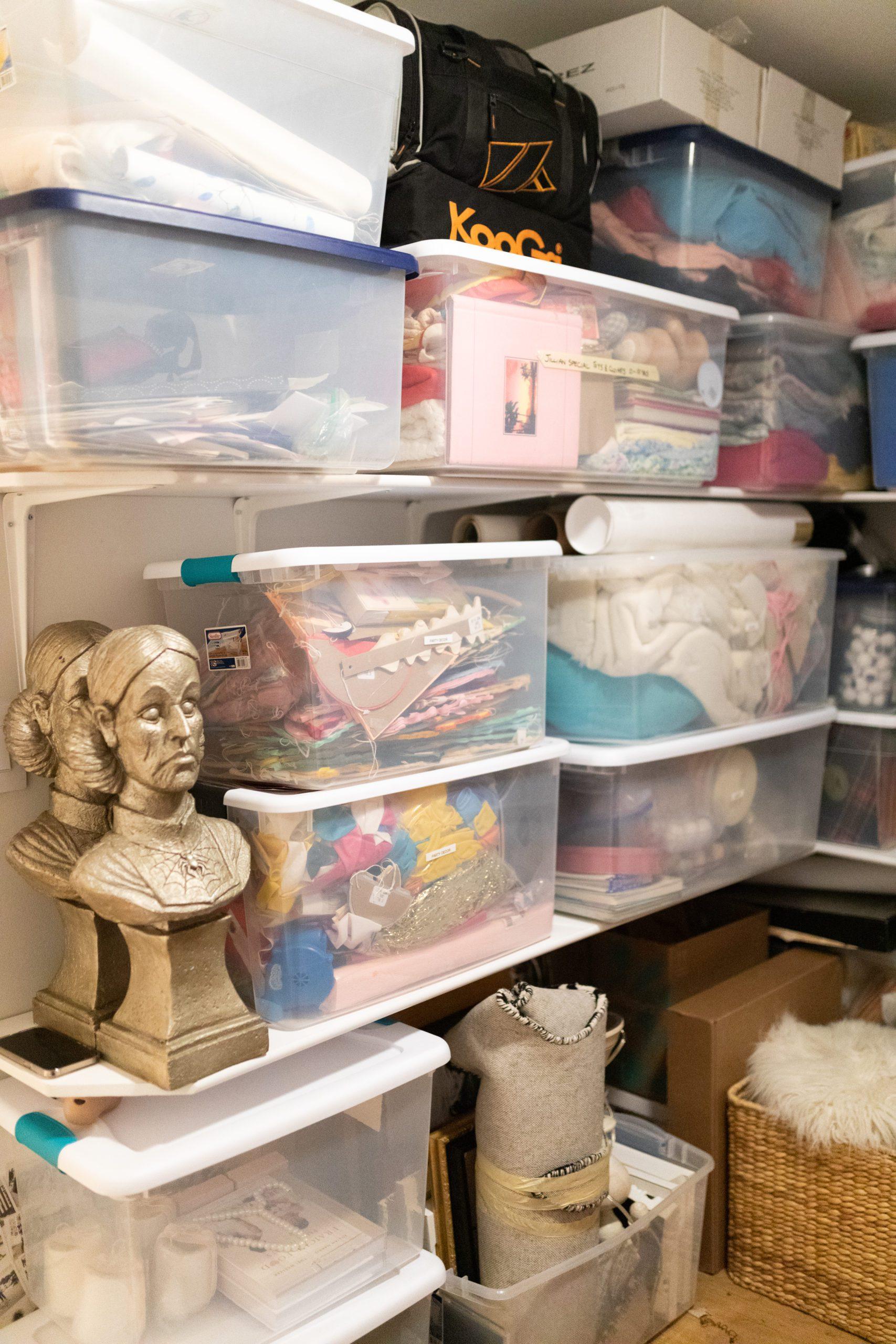 Jillian Harris' Storage Room