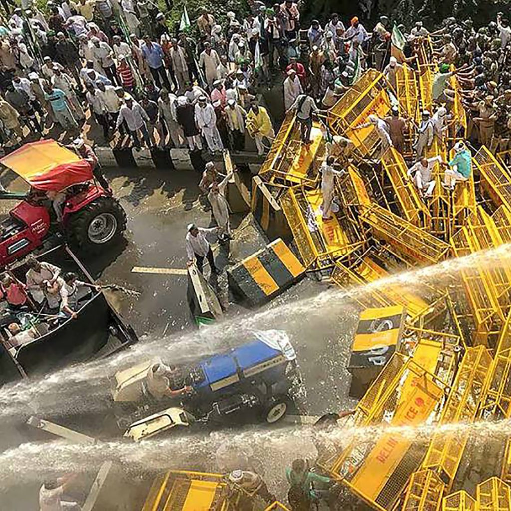 Farmers in India Protest