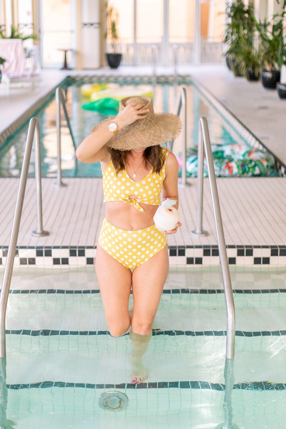 Jillian Harris x Imagine Perry Women's Swimsuit Collaboration