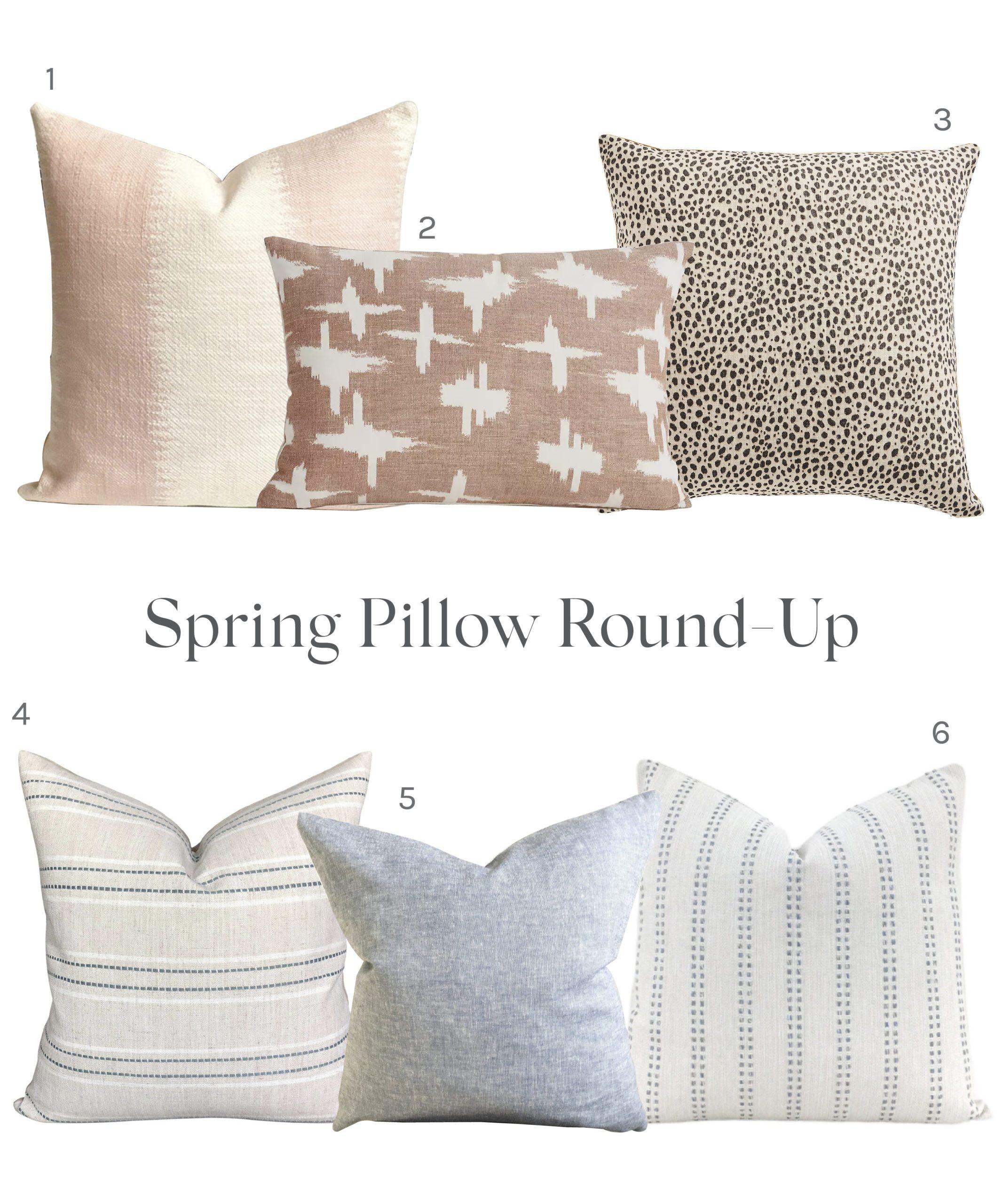 Jillian Harris Pillow Round up! Her 6 Favourite Pillows for Spring 2021.