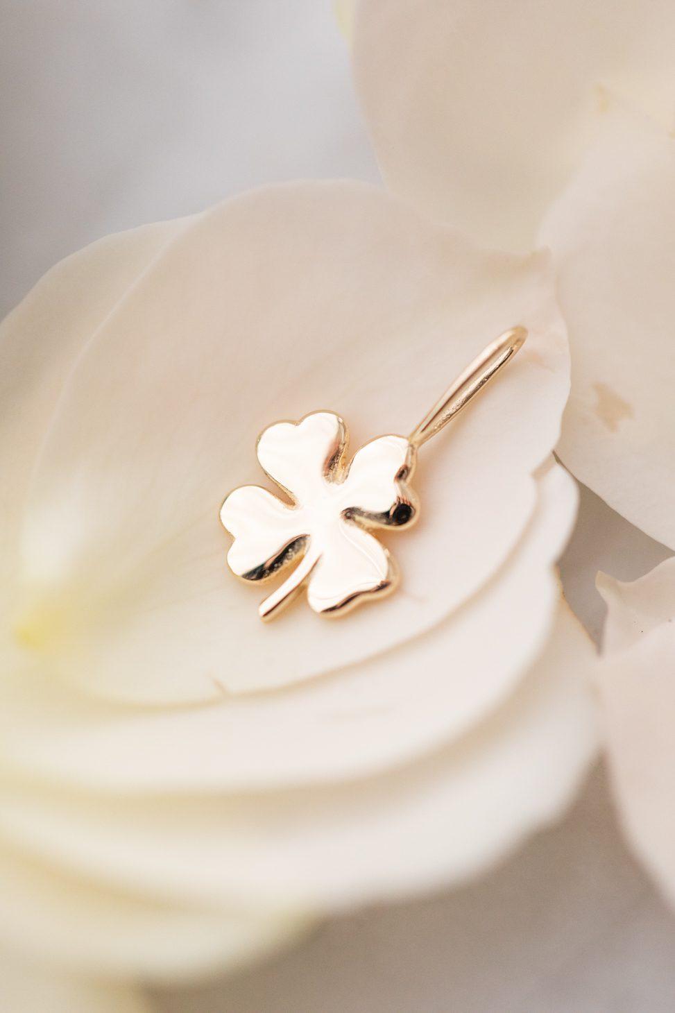 The Four Leaf Clover Charm, Melanie Auld Jewelry