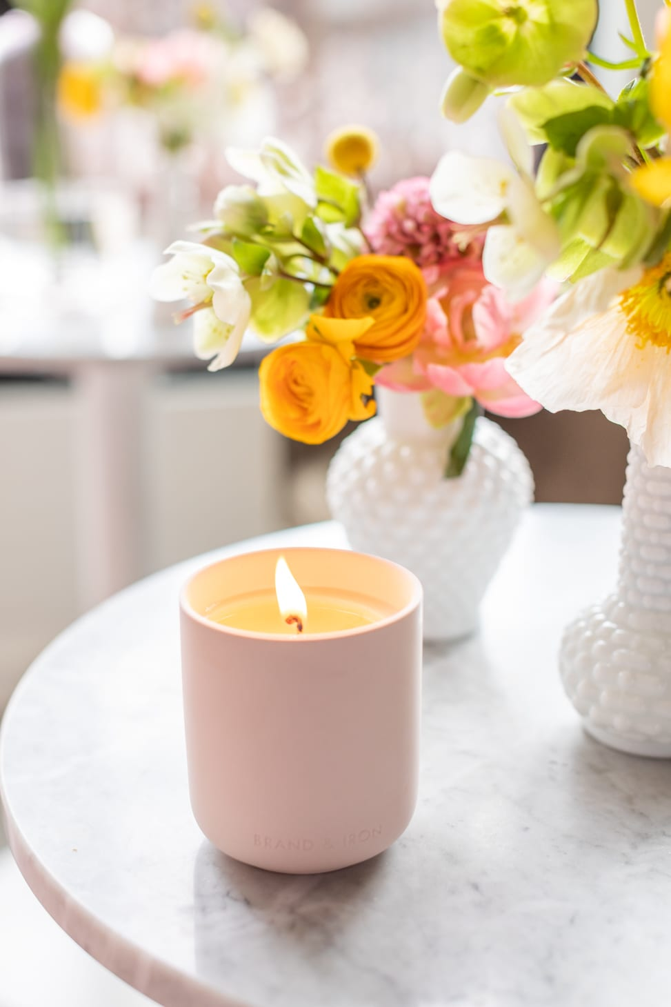 Brand & Iron Summer Love Candle add on