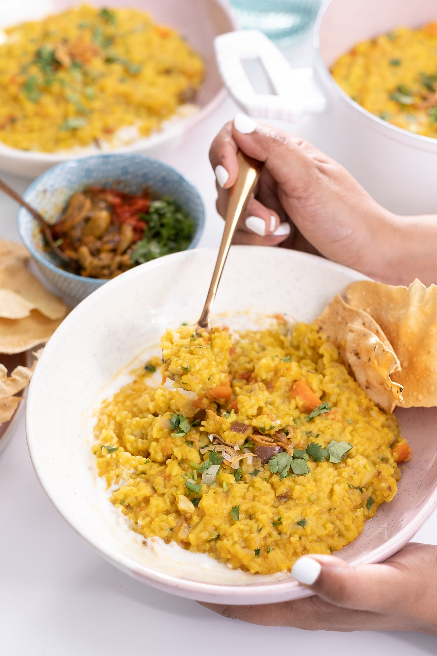Masala Khichdi With Vegetables Recipe By Pink Chai!