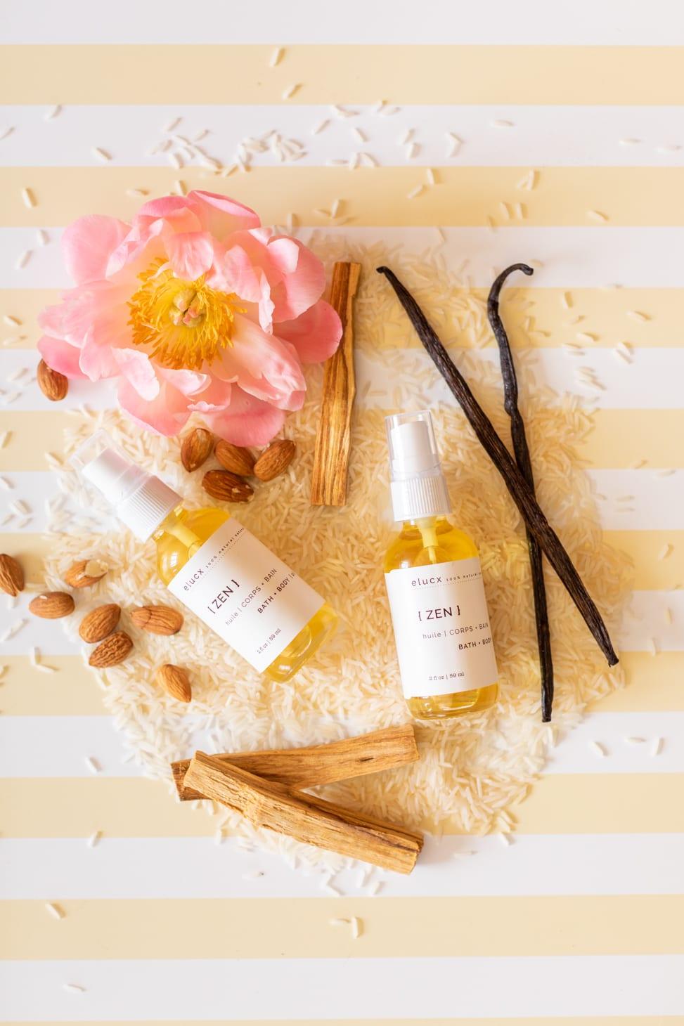 Jillian Harris favourite body oil Elucx Zen Body Oil
