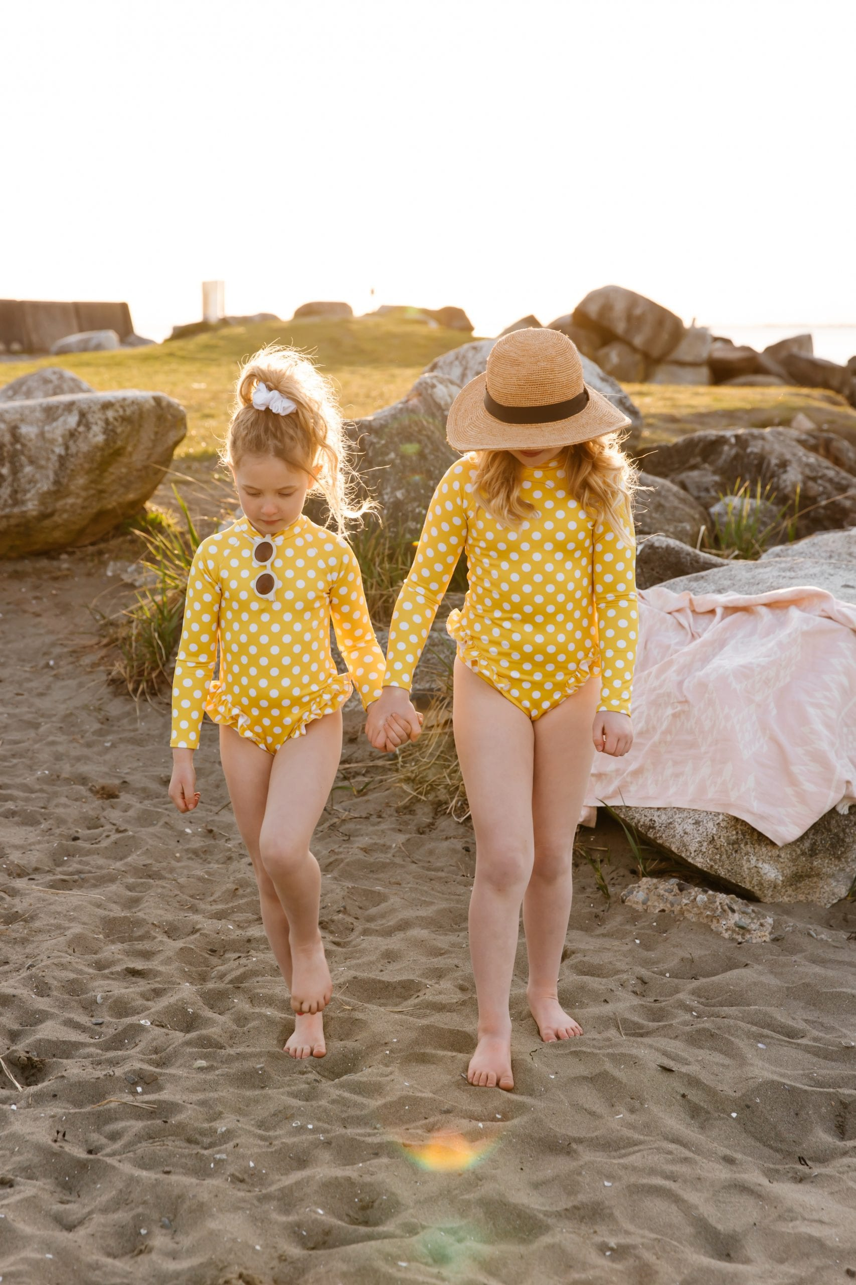 Imagine Perry Girls Rufflebum Rashguard add on in The Summer Jilly Box