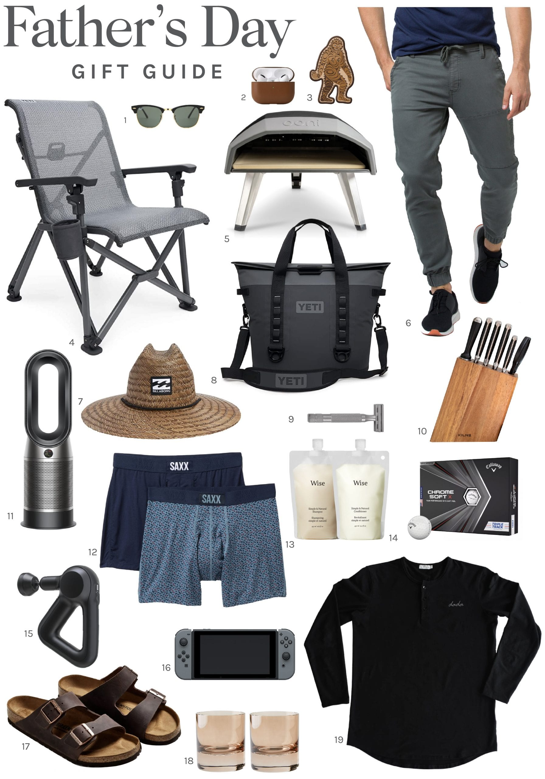 Justin Pasutto's Father's Day Gift Guide