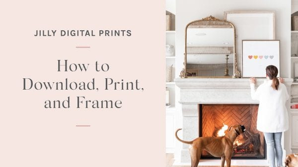 How to Print and Download Your Digital Files