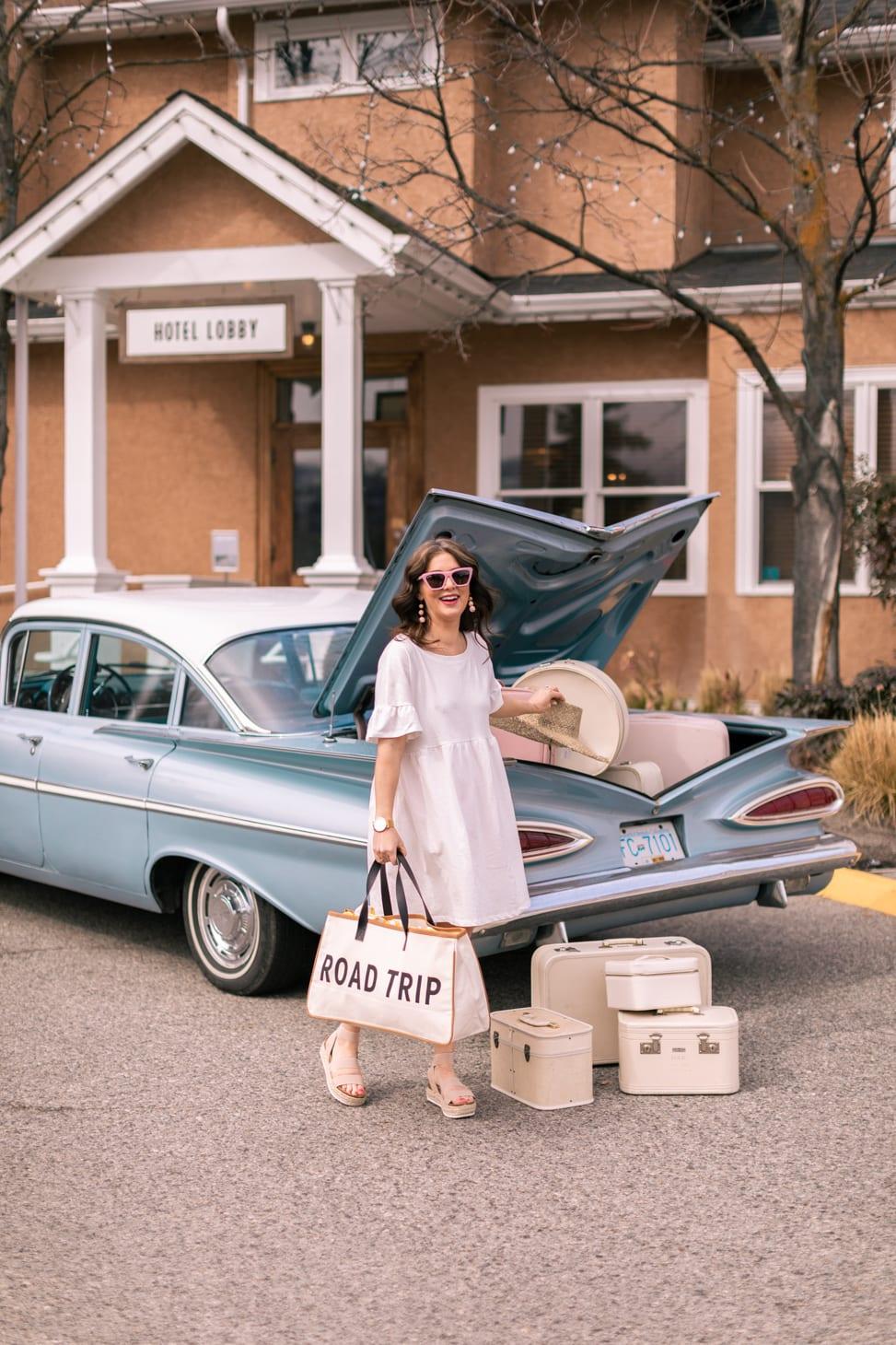 Monika Hibbs Home Canvas Road Trip Bag