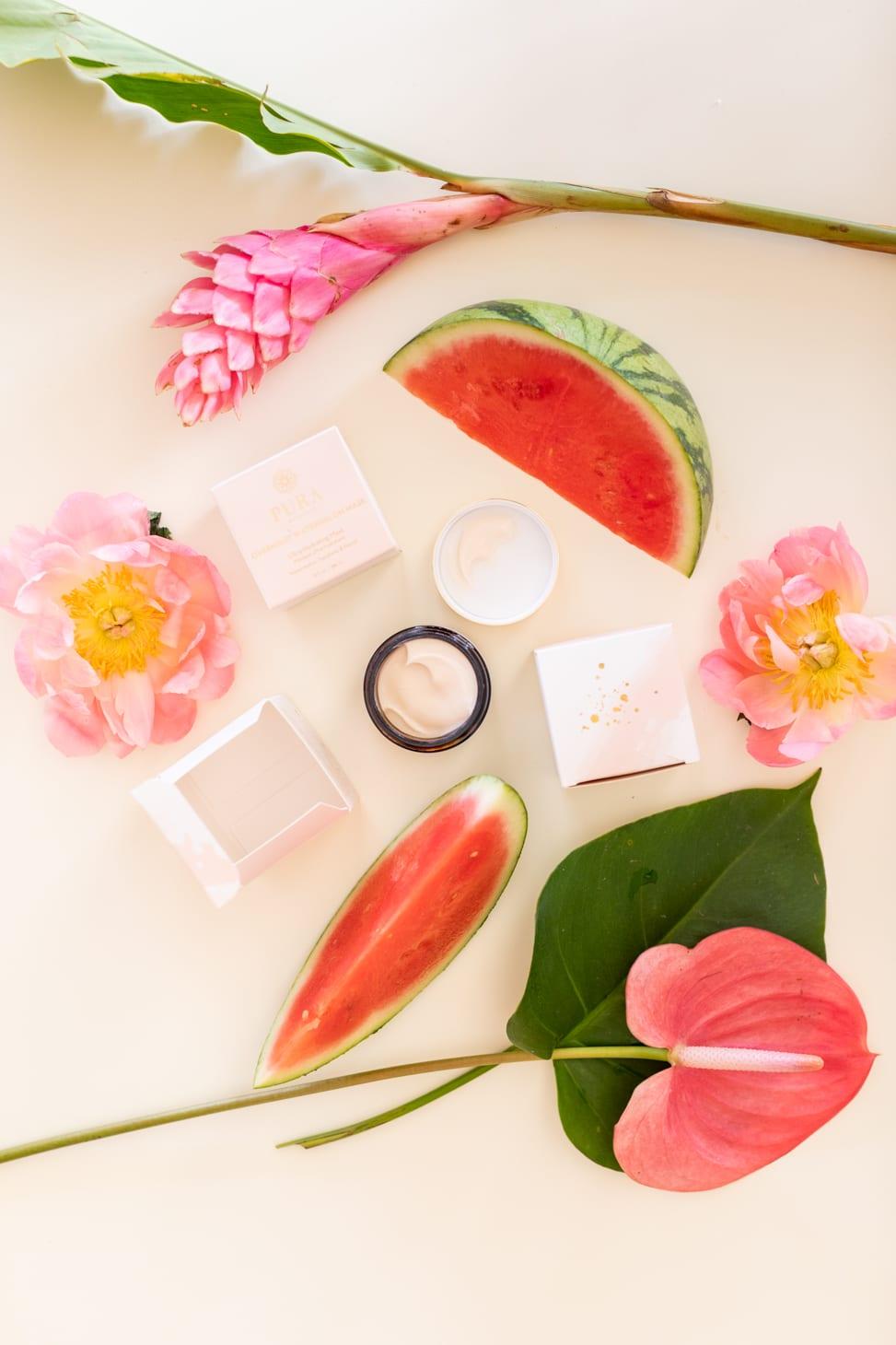 Jillian Harris favourite face mask Pura Overnight Watermelon Mask