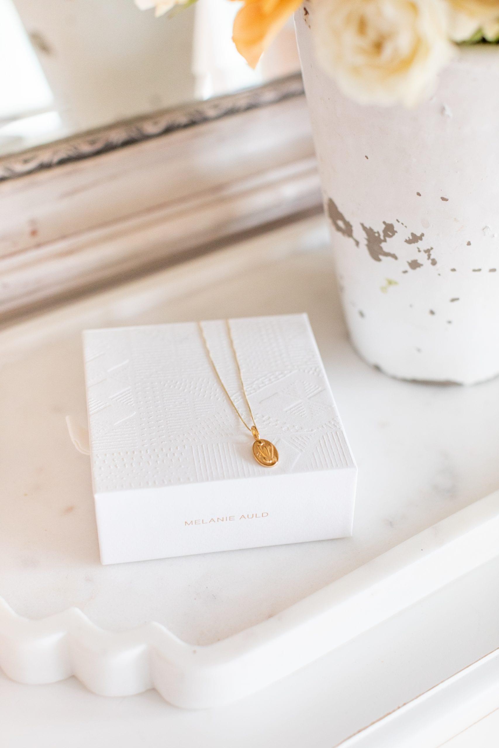 Melanie Auld Goddess Necklace