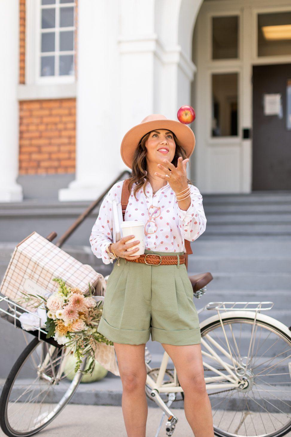 Jillian Harris' Teacher Inspired Outfits