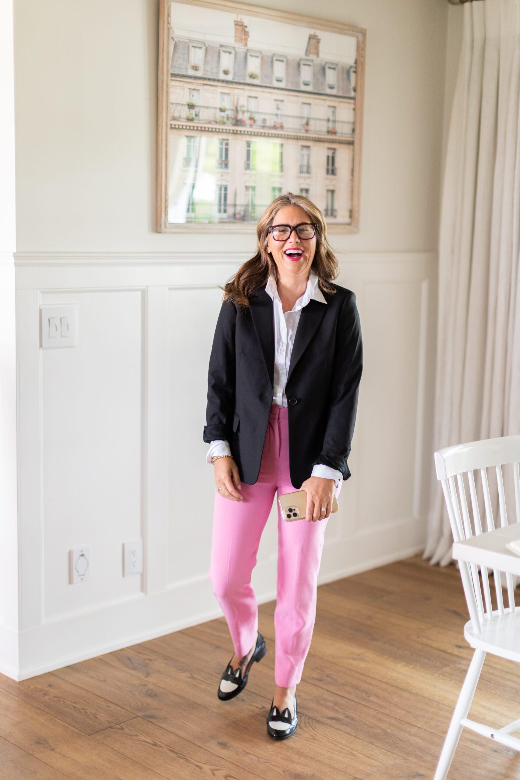 Jillian Harris' go-to work wear
