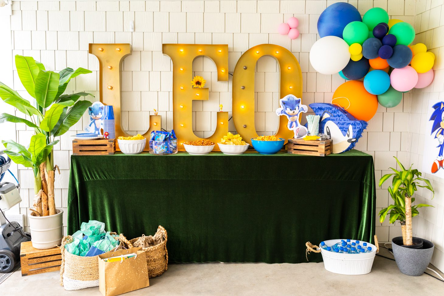Leo Pasutto's 5th birthday decor