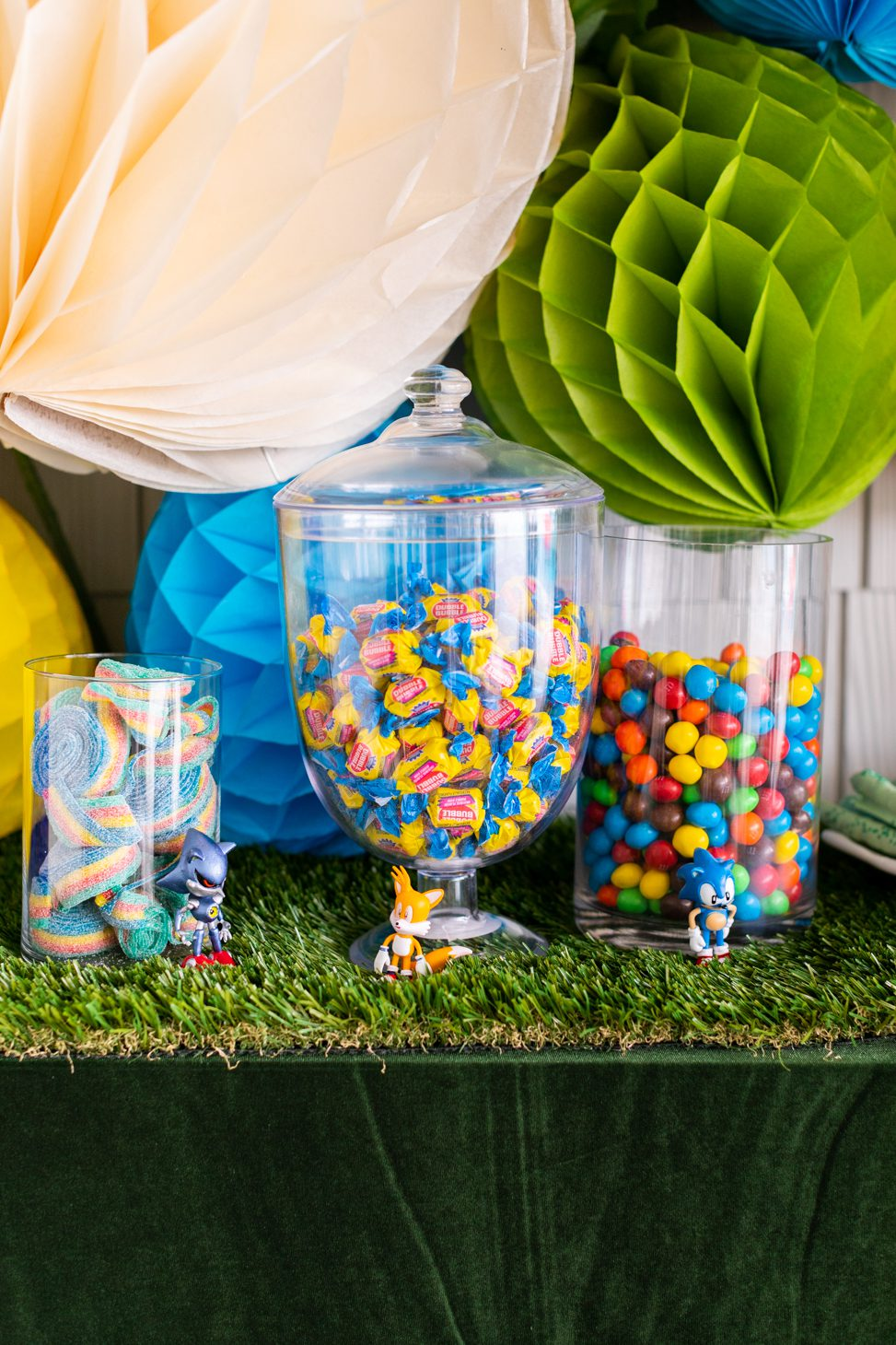 Kids Birthday Party Candy Bar