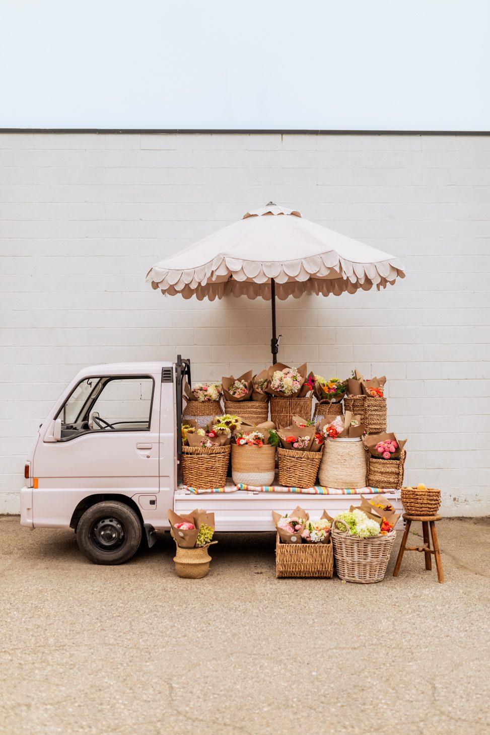 DIY Flower Truck