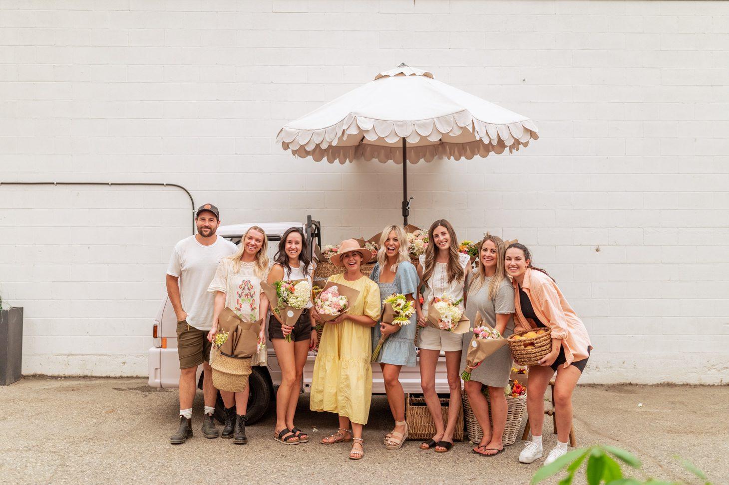 Team Jilly's First Successful Flower Event