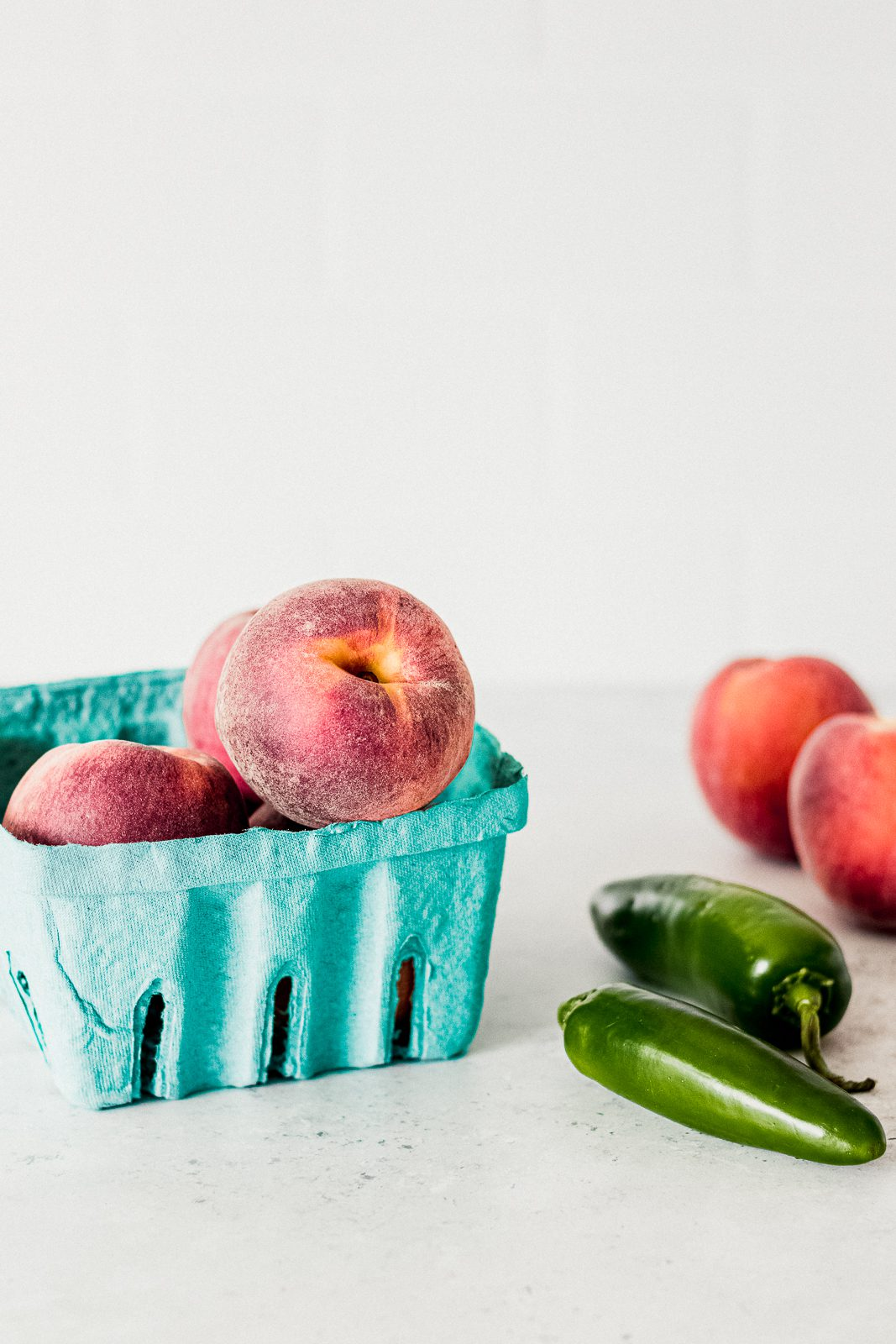 Sweet and Spicy Peach Jalapeño Popsicles