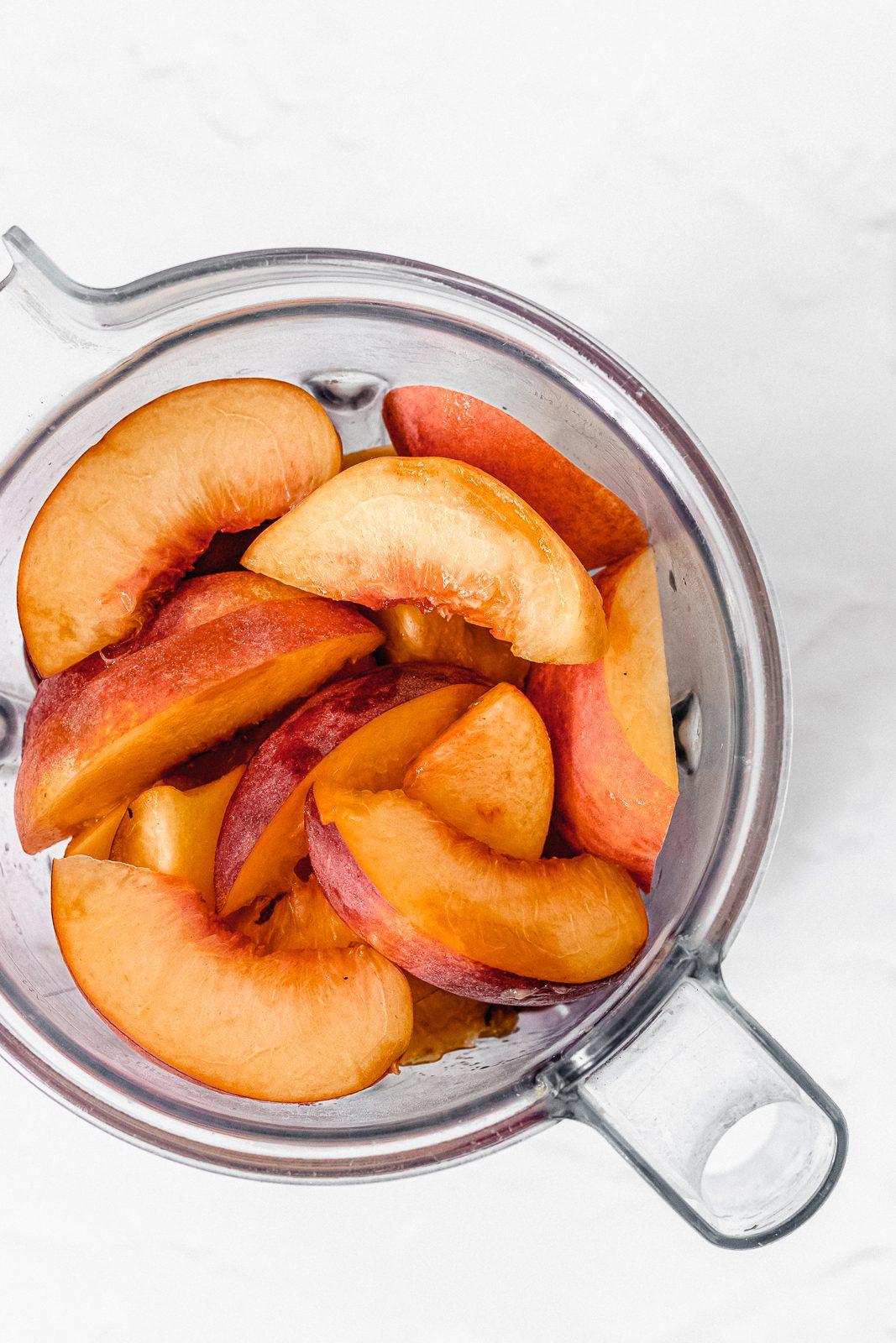 Adult Popsicle Recipe, Peach Jalapeño Popsicles
