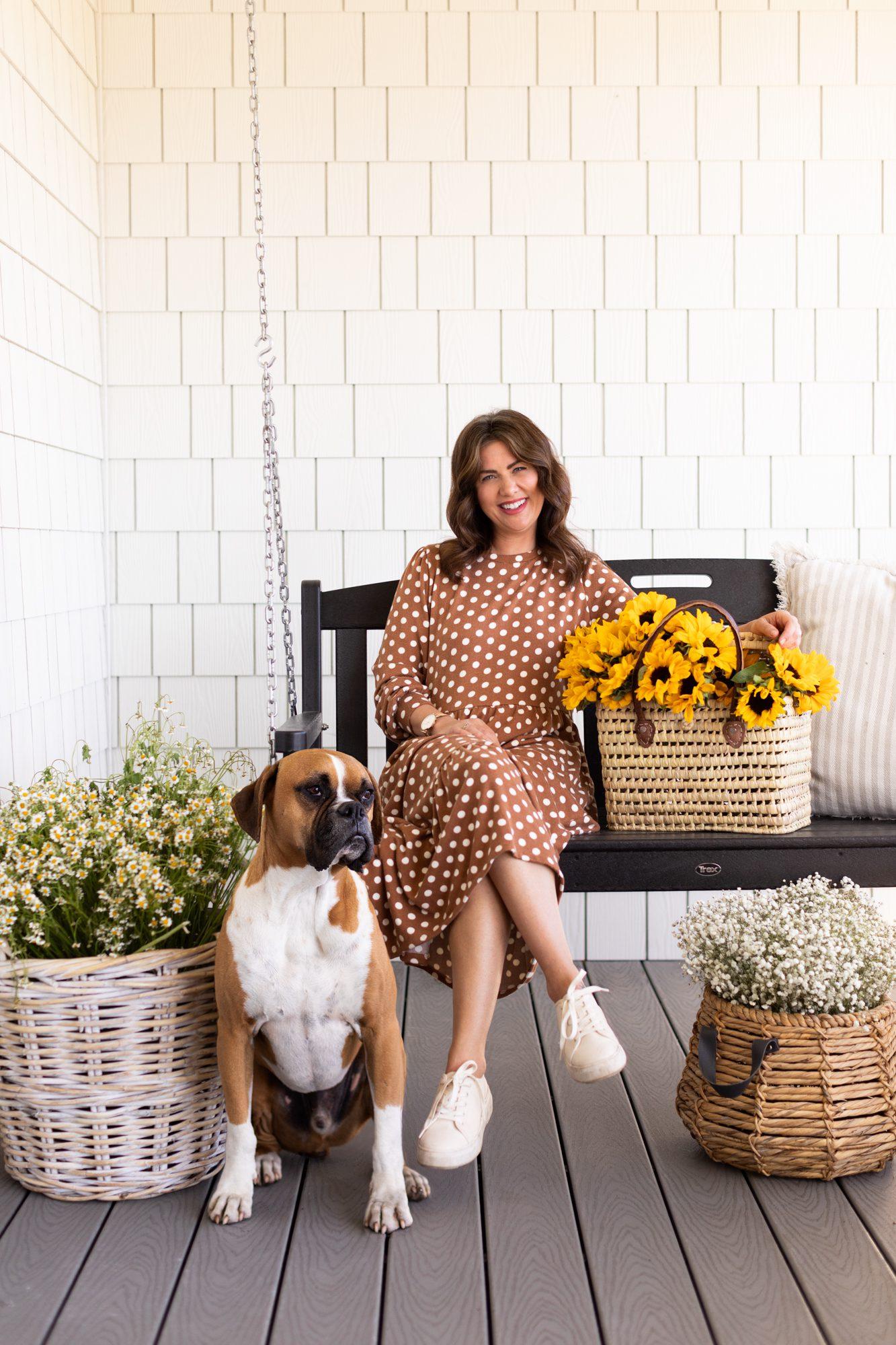 Jillian Harris x Joe Fresh Tiered Midi Dress