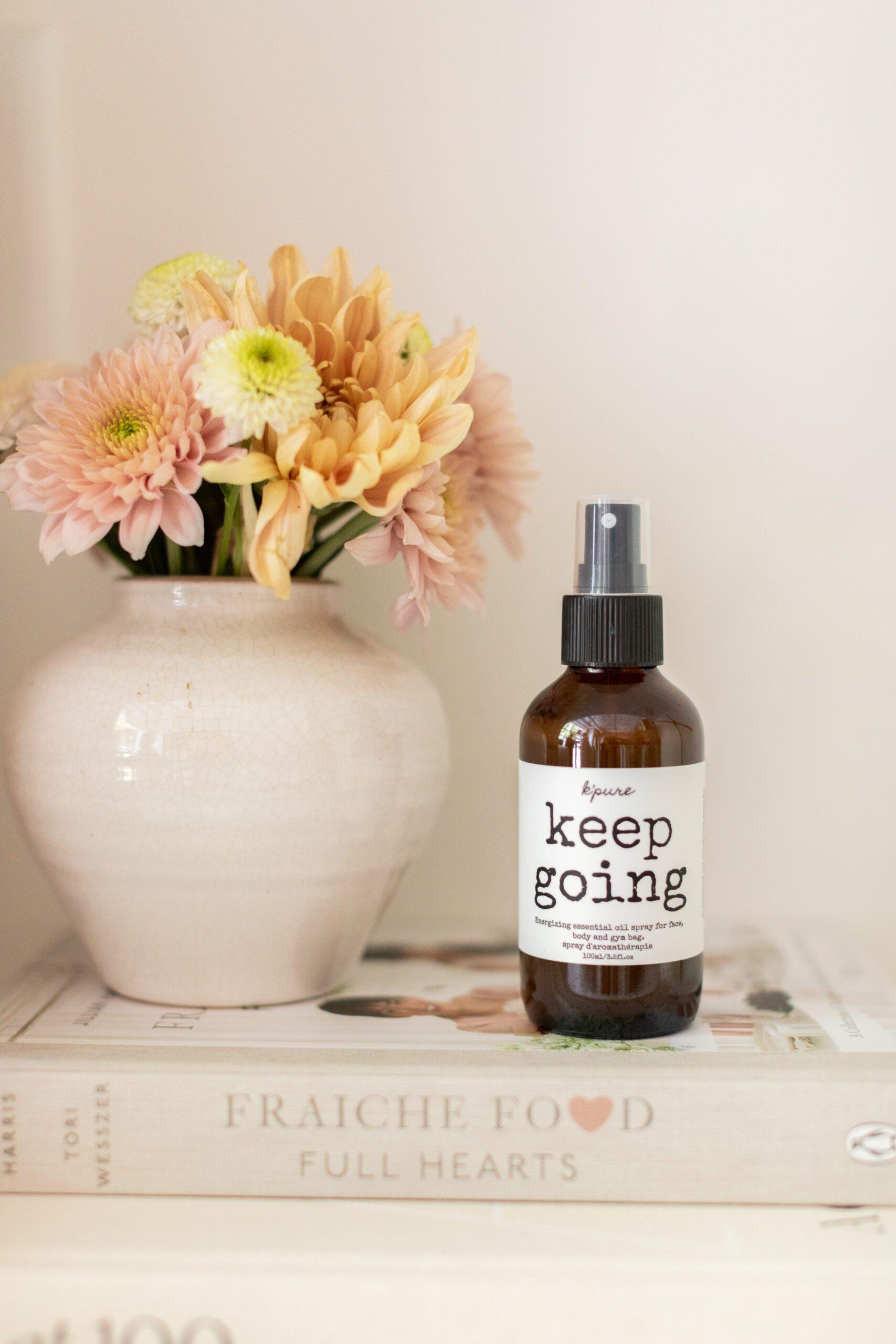K'Pure Naturals Keep Going Spray
