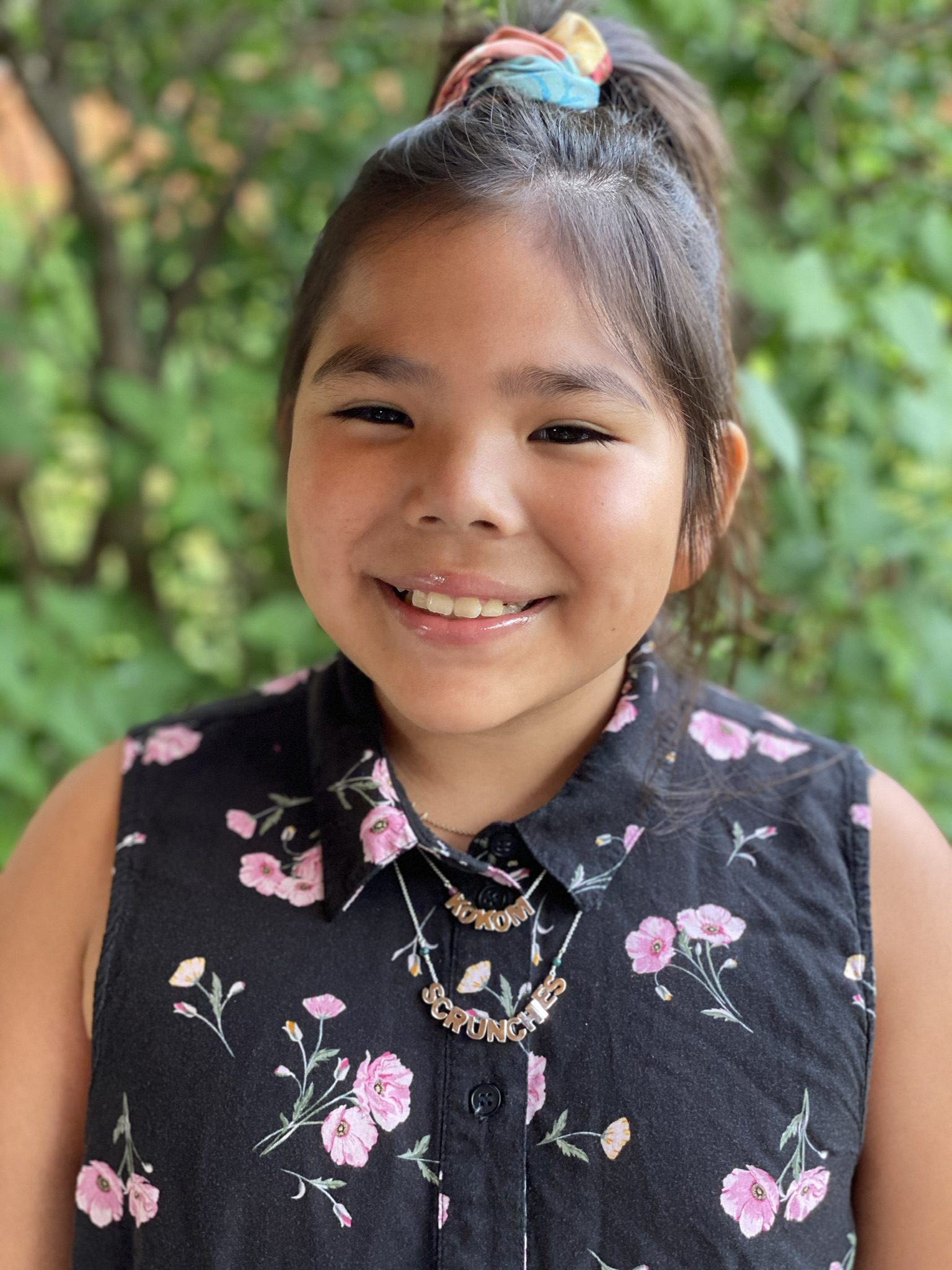 Mya Beaudry 10-year-old Founder and CEO of Kokom Scrunchies