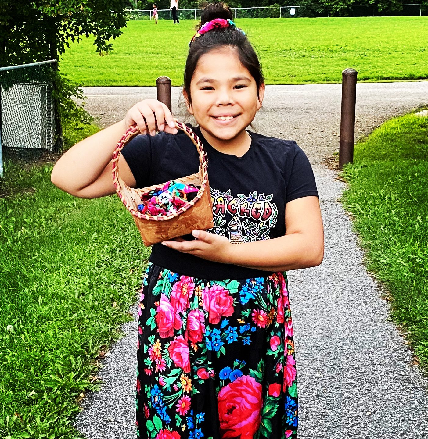 Mya Beaudry Founder and CEO of Kokom Scrunchies